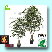 2015 wholesale High Quality Artificial1-3m ficus tree/ artificial ficus bonsai/artificial ficus decoration