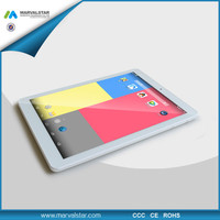 2015 New Arrival 9.7inch RK3288 Quad-Core 2G/16G 2048*1536 Retina 0.3MP/5.0MP cheapest tablet pc made in china with 3G/GPS/BT