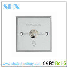 Electric IR Sensor Switch, Infrared Exit Button for Access Control, Automatic Door Push Button