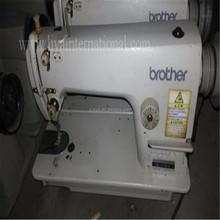 Japão recondicionados o irmão 111 única agulha ponto preso industrial máquina de costura usadas para vender