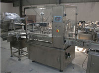Automatic electric cigarette liquid filling capping machine