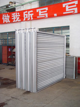 air cooled heater shell tube steel tube steel shell spirally wound air heat exchanger