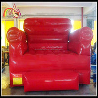 High quality giant inflatable chair model for advertising,inflatable sofa chair on sale