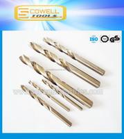 HSS Cobalt 5% (M35) twist drill bits for metal DIN338