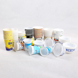 JC chewing gum packaging,PP/PS disposable soybean packaging cups,bowls,food grade cling film