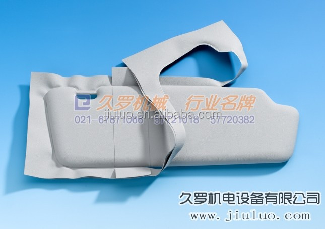 car sun visor mould