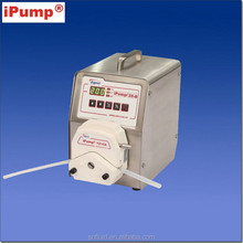 peristaltic pump for lab filling station