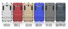 2015 cheap rubber steel cellphone case for samsung J5