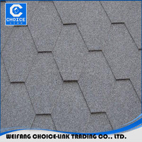 Colorful and Cheap 3-Tab Asphalt Shingle