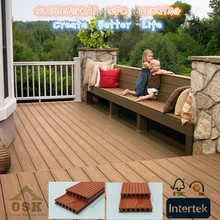 Whosale China Factury Wood Plastic Composite Outdoor Deck Flooring