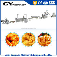 Automatic mixing, extruding, frying cheetos making machinery