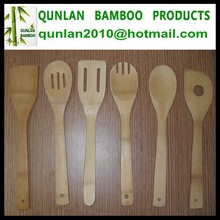 Eco-friendly Traditional Bamboo Cooking Spoon