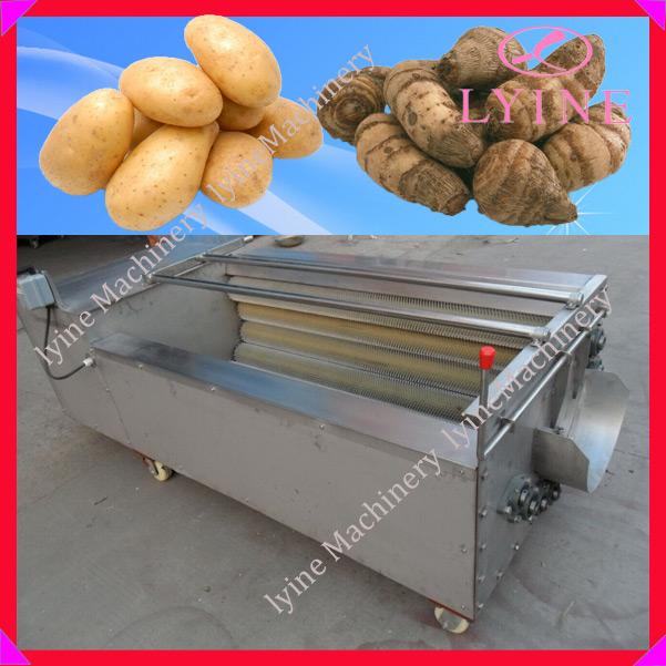 Carotte pomme de terre peeling machine manioc peeling et machine laver pomme de terre plucher - Machine a eplucher les chataignes ...