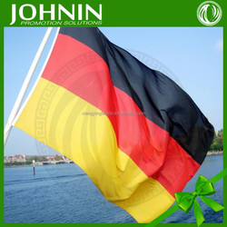 3X5ft custom polyester germany printing black red and yellow flag