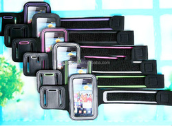 Gym sports phone armband, sports armband for iphone /Samsung/blackberry,mobile phone armband case
