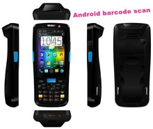 Industrial ip65 rating rugged handheld mobile pda with android os 1d barcode scanner NFC TS-5000