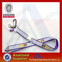 Cute retractable Yiwu pioneer reflect lanyard wholesale in lanyard