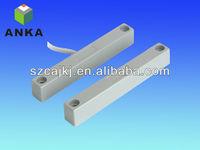 silver surface mount door window magnetic contact home alarm security