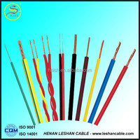 2015 quality pvc insulated copper conductor 1.5mm electrical wire cable for sale