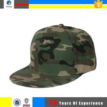 high quality snapback camo cap and hat