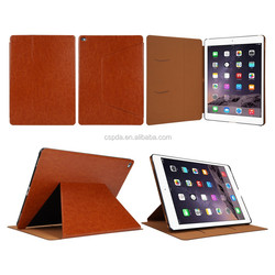 pu leather case for ipad pro with stand ,for iPad pro 12.9 case cover