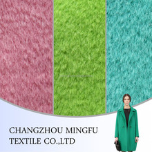 low price wool/poly blend woolen melange fabric for fashion coat