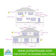 2015 new designed single-family prefab villa in two floors