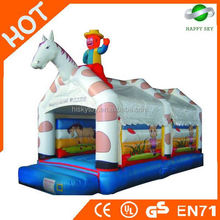 New design inflatable bouncer amusement park,inflatable bouncer toy dinosaur,inflatable bull bouncer