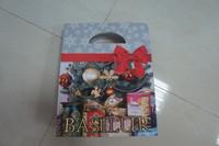 chrismas promotion usage paper printed gift bag