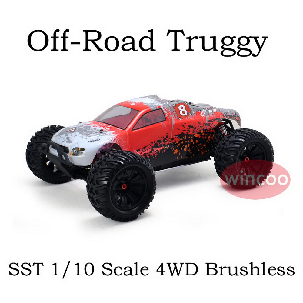 rc truggy rc car battery truggy 1 10 scale 4wd brushless. Black Bedroom Furniture Sets. Home Design Ideas