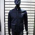 luz de chaquetas acolchadas 2015 azul marino nueva cottong librar acolchada chaquetas de invierno para los hombres