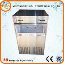 Freeze cubito de hielo en escamas de la máquina utiliza el procesamiento de lácteos, máquina de hacer hielo
