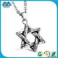 Silver 925 Pentagram Pendant