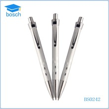 wholesale promotional new style metal solid copper gel pen