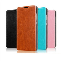 Fashionable PU Leather Mobile Phone Flip Cover Case for Lenovo A7000 Plus Wholesale mobile phone shell for Lenovo A7000 Plus