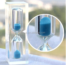 New design crystal hourglass /crystal sand timer