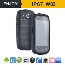 4.0 inch 2015 android waterproof phone with 3g 2600mah battery gsm cdma waterproof dual sim mobile phone