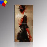 Beautiful Women Canvas Painting Art/Dance girl Wall Art For Decor/Giclee Print Canvas Art