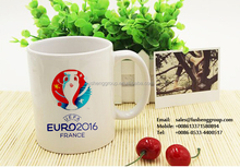 Ceramic mug ,11oz ,7102 football promotional ,direct from factory European Cup,Football 3