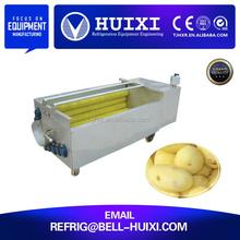 Potato/Carrot Brush Roller Washing Machine