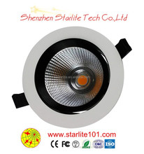 Best sale recessed led lights 12w led downlight CE & RoHS 3years warranty