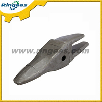 Excavator Undercarriage parts Bucket tooth forge material Applied to Daewoo DH220-5