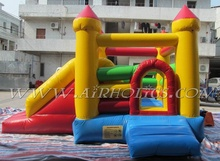 Jumping game! inflatable combo, air jumping bouncer, inflatable bouncer slide