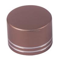 38mm oxidation aluminum&plastic cap,anodized metal screw cap,Ensure 100% qualified