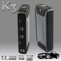 customized jump starter portable car emergency charger&jump starter with air pump
