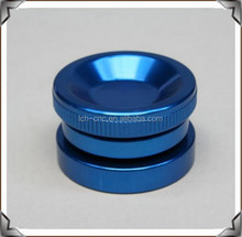 Custom Manufacturing CNC Turned Machining Spray Paint Chrome Blue