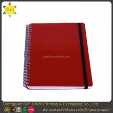 competitive price hardcover notebooks for students/notebook with elastic strap/diary notebook