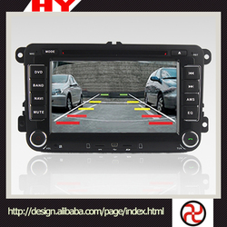 Latest made in China dvd car audio navigation system for Volkswagen