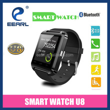 Best Selling!!! 2015 China Android U8 Smart Watch 1.48 Inch MTK6260 Bluetooth Smart Watch