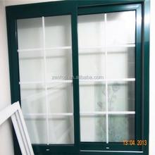 nuovo stile popolare progettazione temperato di vetro del pvc finestra romania